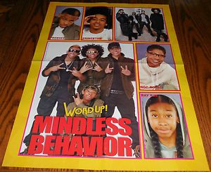 Mindless Behavior Group Collage Prodigy Wearing Sunglasses Poster 16x20 2 Sided