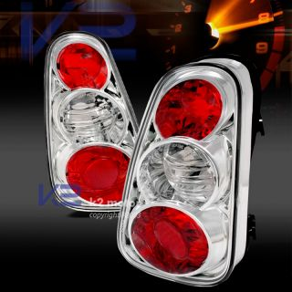 02 04 Mini Cooper s altezza Tail Lights Turn Signal Lamps Chrome