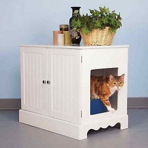 Pet Studio Cat Litter Box Cabinet Box Cover Washroom Bed Furniture House Kittty