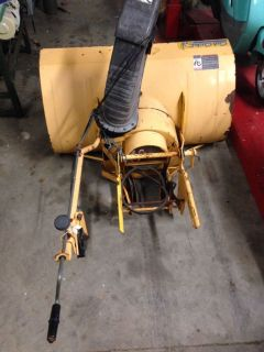 Cub Cadet 682 Wide Frame Snow Blower Attachment Tractor IH International