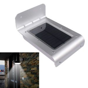 Waterproof 16 LED Solar Power Outdoor Indoor Path Sound Motion Sensor Light Lamp
