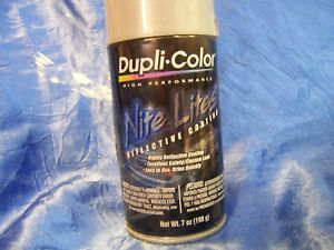 Dupli Color Nite Lites Reflective Paint Bright Silver