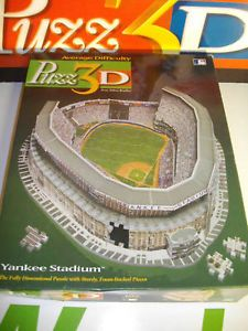 The Yankee Stadium NY Puzzle Puzz3D MB Puzz 3D 100
