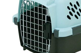 Pet Carriers Small Dog Cat Airline Travel Crate Plastic Supplies Kennels Cage