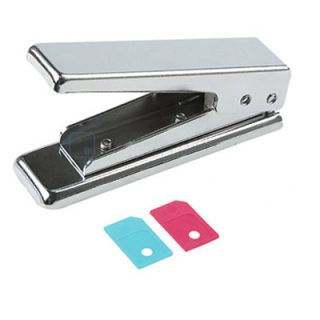 New Micro Sim Card Cutter with 2 Sim Card Adapter Converter for iPhone 3G 4G