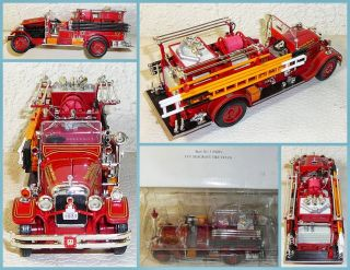 National Motor Museum Mint 1 50 1931 Seagrave Fire Truck Sound Beach FD 32380