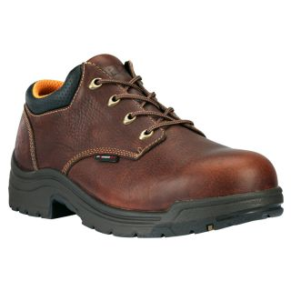 $130 New Mens Timberland Pro Titan Safety Toe Work Shoes Brown 47028 Size