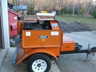 Air Compressor Portable Tow Behind