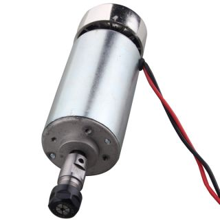 400W 12V 48V DC High Speed Air Cooled Spindle Motor for Engraving Milling