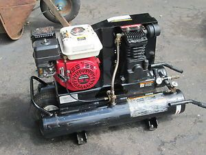 Honda Gas Powered Portable Air Compressor