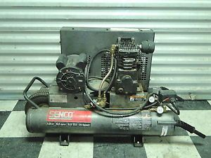 Senco PC2016 1 5HP Twin Tank Electric Portable Air Compressor