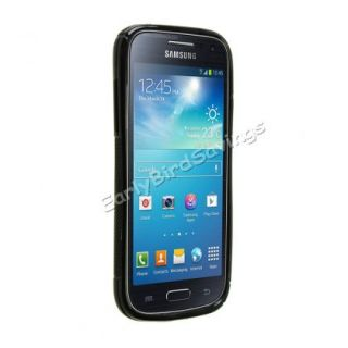 S Line Wave Soft TPU Gel Case Cover for Samsung Galaxy S4 Mini I9190 I9192