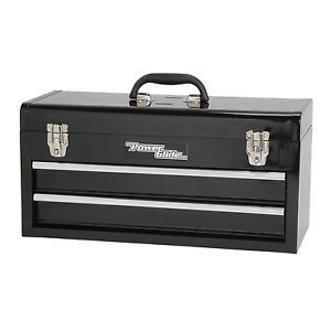 Power Glide 60500024 Portable Steel 2 Drawer Tool Box