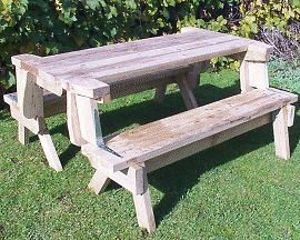 10 Folding Picnic Table Building Plans Instructions
