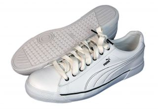 Puma Benny L Perf Men White Black Athletic Shoe
