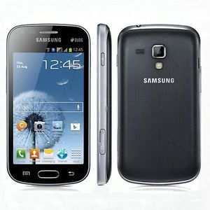 New Samsung Galaxy s Duos GT S7562 4GB 3G WiFi 5MP Unlocked Cell Phone Black