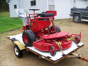 "Yazoo Commercial Riding Lawn Mower with 48"" Deck"