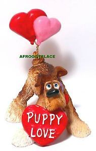 Adorable Rags Dog Figurine Puppy Love Doug Harris Retired Russ Berrie