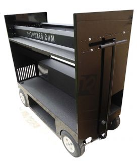 RSR Pit Box Pitbox Rolling Portable Racing Toolbox Cart Kart Tool Box Tire Rack