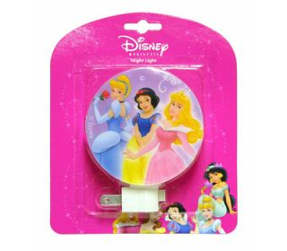 Disney Princesses Girls Room Decor Plug in Night Light