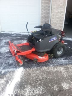 Simplicity Zero Turn Riding Lawn Mower