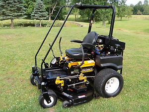 Cub Cadet Tank Commerical Zero Turn Riding Lawn Mower 60 inch Deck Cat Diesel