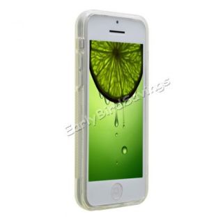 Clear Stylish s Line Wave Soft TPU Gel Case Cover for Apple iPhone 5c Lite Mini