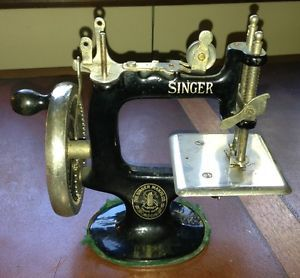 Antique Miniature Singer Sewing Machine