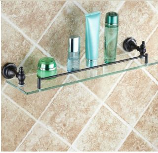New Wall Mounted Oil Rubbed Bronze Bathroom Shelf Shower Caddy Storage Holder
