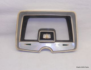 Mopar 65 66 Plymouth Sport Fury Instrument Panel Bezel