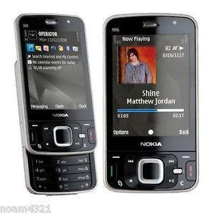 New Nokia N96 16GB GSM 3G GPS WiFi GPS Gift Unlocked Smartphone Mobile Phone 6417182878176