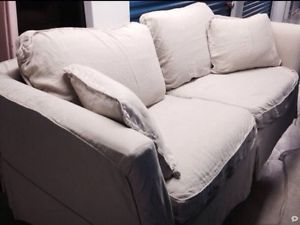 Authentic Rachel Ashwell Shabby Chic Comfy Slipcover Style Couch Slipcover Free
