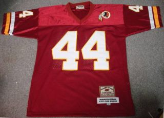 Players of The Century Washington Redskins John Riggins Jersey L 50 NWOT