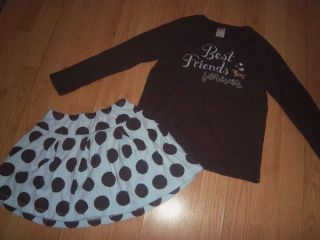 Gymboree Outlet Girls Best Friend 2 Piece Little Girls Outfit Size 7