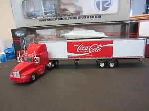 "Kenworth Semi Tractor Trailer ""Coca Cola"" 1 64"