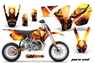 KTM SX65 SX 65 2009 2012 Graphics Kit Creatorx Decals Stickers Penp