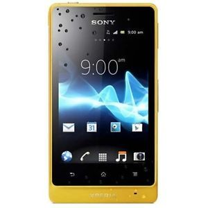 New Sony Xperia Go ST27I Dual Core 5MP Hspda GPS 8GB Yellow Phone