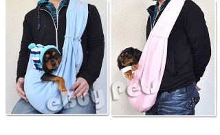 Magic Shoulder Sling Pet Carrier Bag Comfy Soft Cute for Dog Puppy Cat Doggy