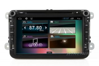 Android 4 1 1 Car GPS Navi for Volkswagen VW Passat Golf Jetta Polo Touran Caddy