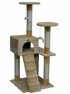 Cat Tree House Toy Bed Scratcher Post Furniture F56