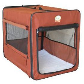 "43"" XXL Dog Cat Pet Bed House Soft Carrier Crate Cage"