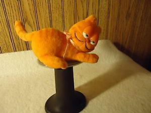 Garfield Cat Wendy's Fast Food Toy Plush Refrigerator Magnet 4""