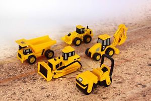 Cat Construction Excavator Diecast Sand Box Toys Kids Toy Caterpillar Dump Truck