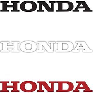 2X Honda Logo Decal Sticker Car Truck Motorcycle Auto Racing Die Cut Vinyl