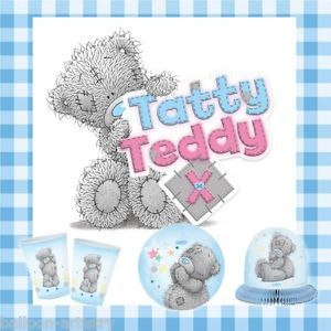 Me to You Tatty Teddy Party Items Tableware Decorations All Under One Listing
