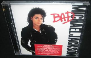 Michael Jackson Bad Special Edition New SEALED CD Inc Bonus Unreleased Tracks