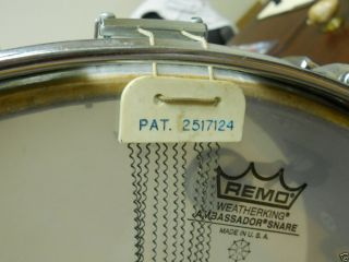 Ludwig Remo Weather King Snare Drum