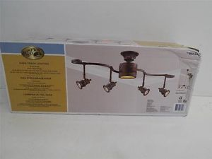 Hampton Bay 853645 Kara Track Lighting Bronze Finish 12774