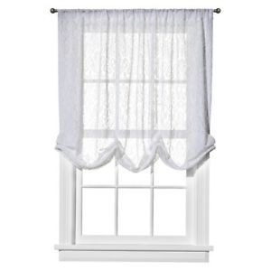 Simply Shabby Chic White Lace Balloon Window Shade