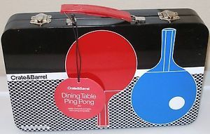 Crate Barrel Dining Table Ping Pong Set Crate Barrel Table Tennis Set Table